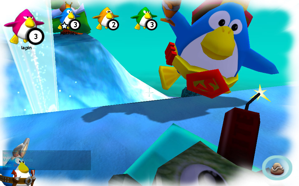 Screenshot of Penguins Arena